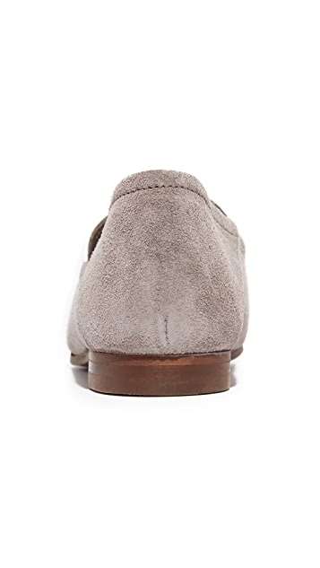 Hudson London Arianna Suede Loafers