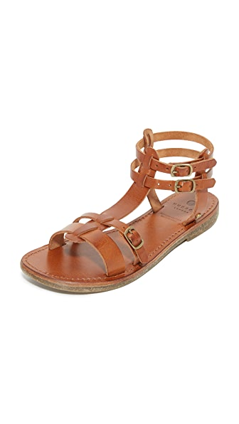 Hudson London Maquinna Leather Sandals
