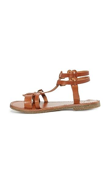 Hudson London Maquinna Leather Sandals