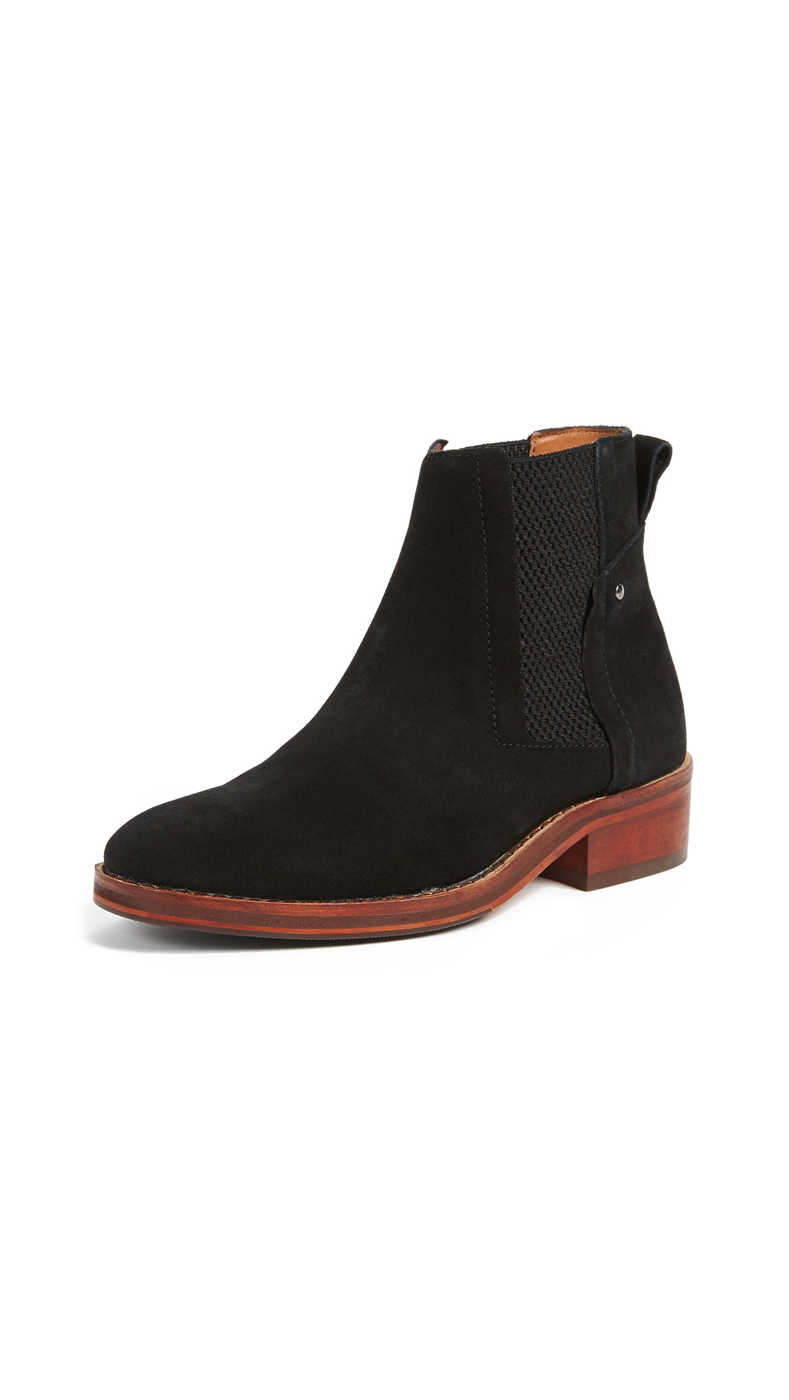 Hudson London Rodney Chelsea Booties - Black