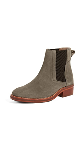 Hudson London Rodney Chelsea Booties In Stone