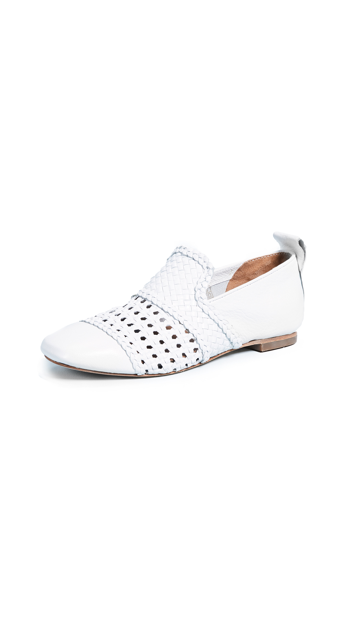 Hudson London Chilli Loafers - White