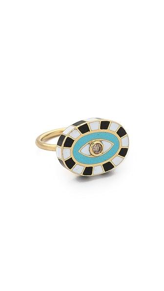 Holly Dyment Mini Evil Eye Ring