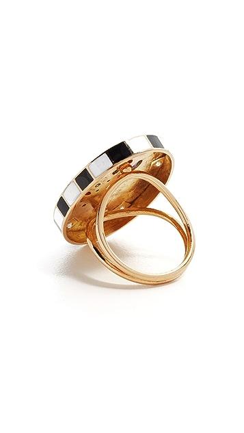 Holly Dyment Saturday Enamel Ring
