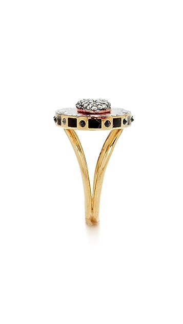 Holly Dyment Glam Lip Enamel Ring