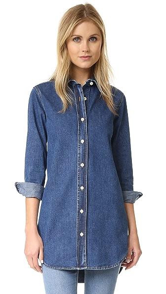 M.i.h Jeans Denim Oversized Shirt