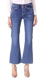 M.i.h Jeans Укороченные расклешенные джинсы Lou