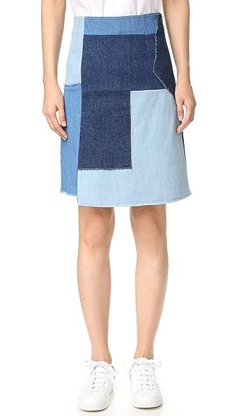 M.i.h Jeans Turo Skirt - Multi