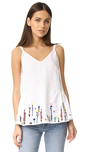 M.i.h Jeans Embroidered Camisole