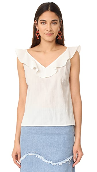 M.i.h Jeans Veeba Top - White
