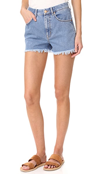 M.i.h Jeans Halsy Cutoff Shorts In Halo