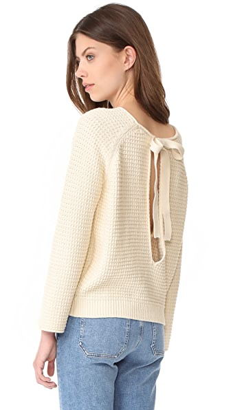 M.i.h Jeans Opening Sweater - Cream
