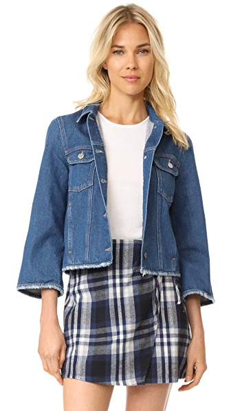 M.i.h Jeans Arch Denim Jacket In Oliver