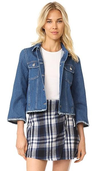 M.i.h Jeans Arch Denim Jacket - Oliver