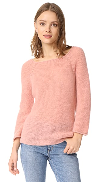M.i.h Jeans Bowen Sweater In Pale Rose