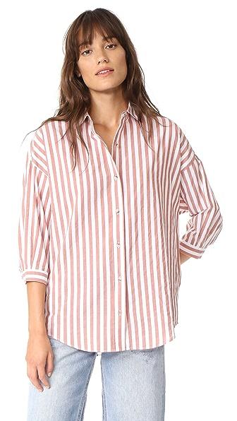 M.i.h Jeans Poets Shirt - Cinnamon