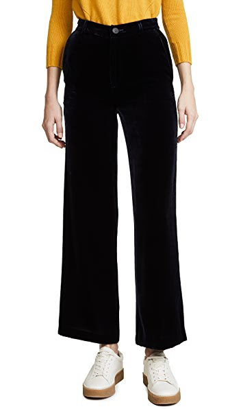 M.i.h Jeans Welbeck Trousers In Midnight Navy