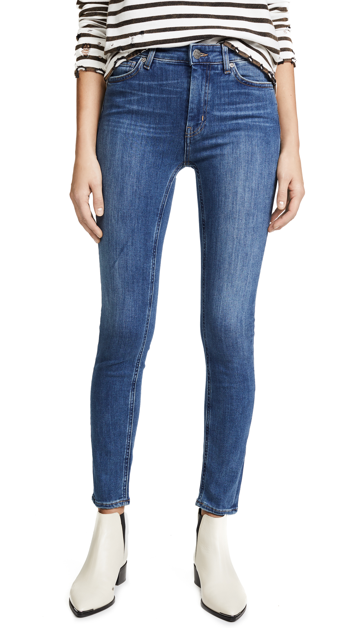 M.i.h Jeans Bridge Jeans In Bee