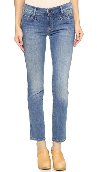 M.i.h Jeans The Paris Cropped Jeans - Bee Wash