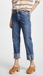 M.i.h Jeans The Phoebe Original 翻边牛仔裤