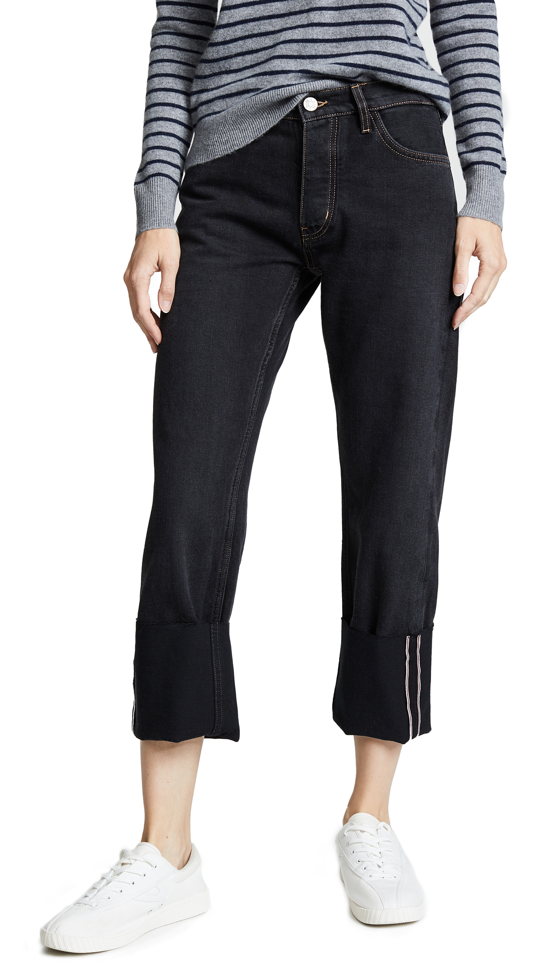 M.i.h Jeans The Pheobe Cuffed Jeans
