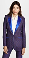 Hebe Studio Jacquard Smoking Jacket