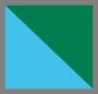 绿色/蓝色/白色
