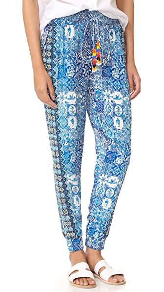 Hemant and Nandita Ceramic Pants - Blue