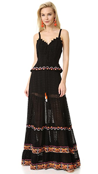 Hemant and Nandita Curio Long Dress
