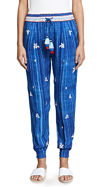 Hemant and Nandita Frontier Pants In Blue