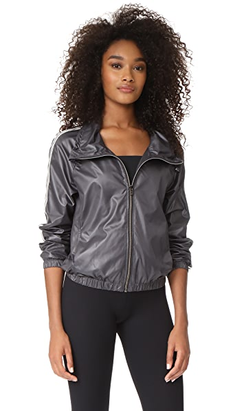 Heroine Sport Racing Windbreaker - Gunmetal
