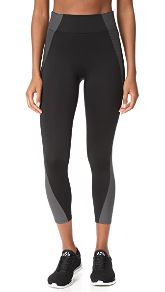 Heroine Sport Tread Leggings - Black/Reflective