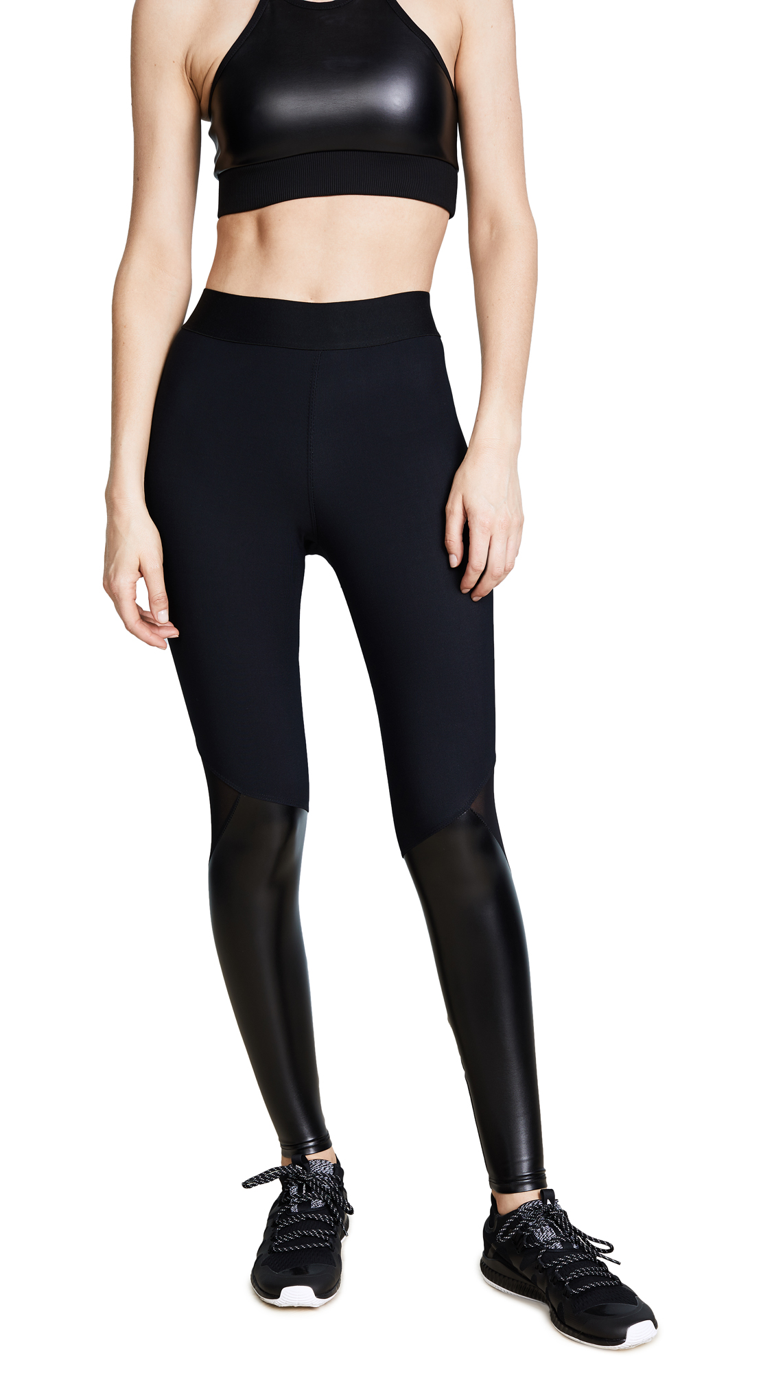 Heroine Sport Matrix Leggings - Black & Matrix