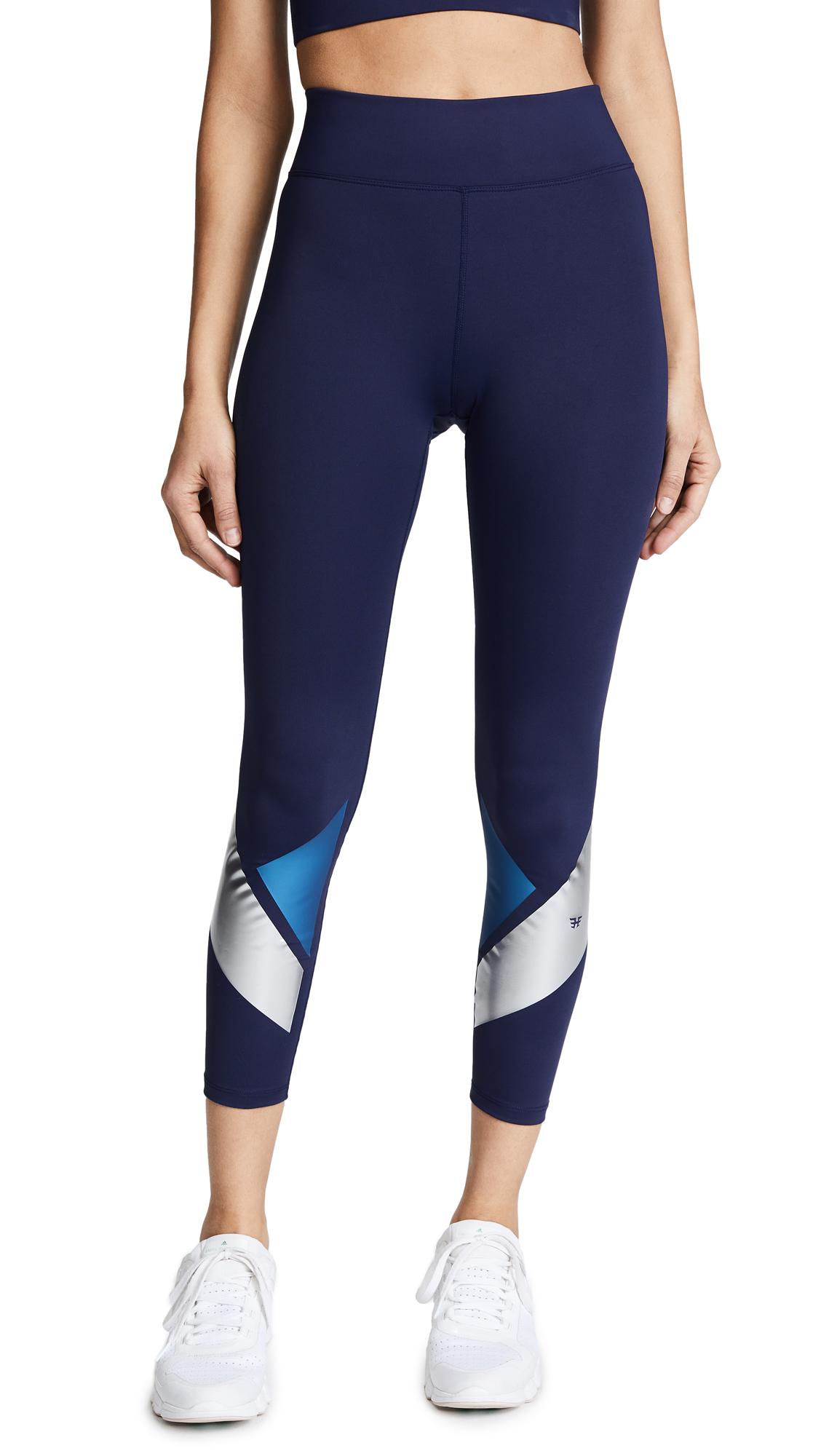 Heroine Sport Flex Leggings - Navy/Blue/Silver
