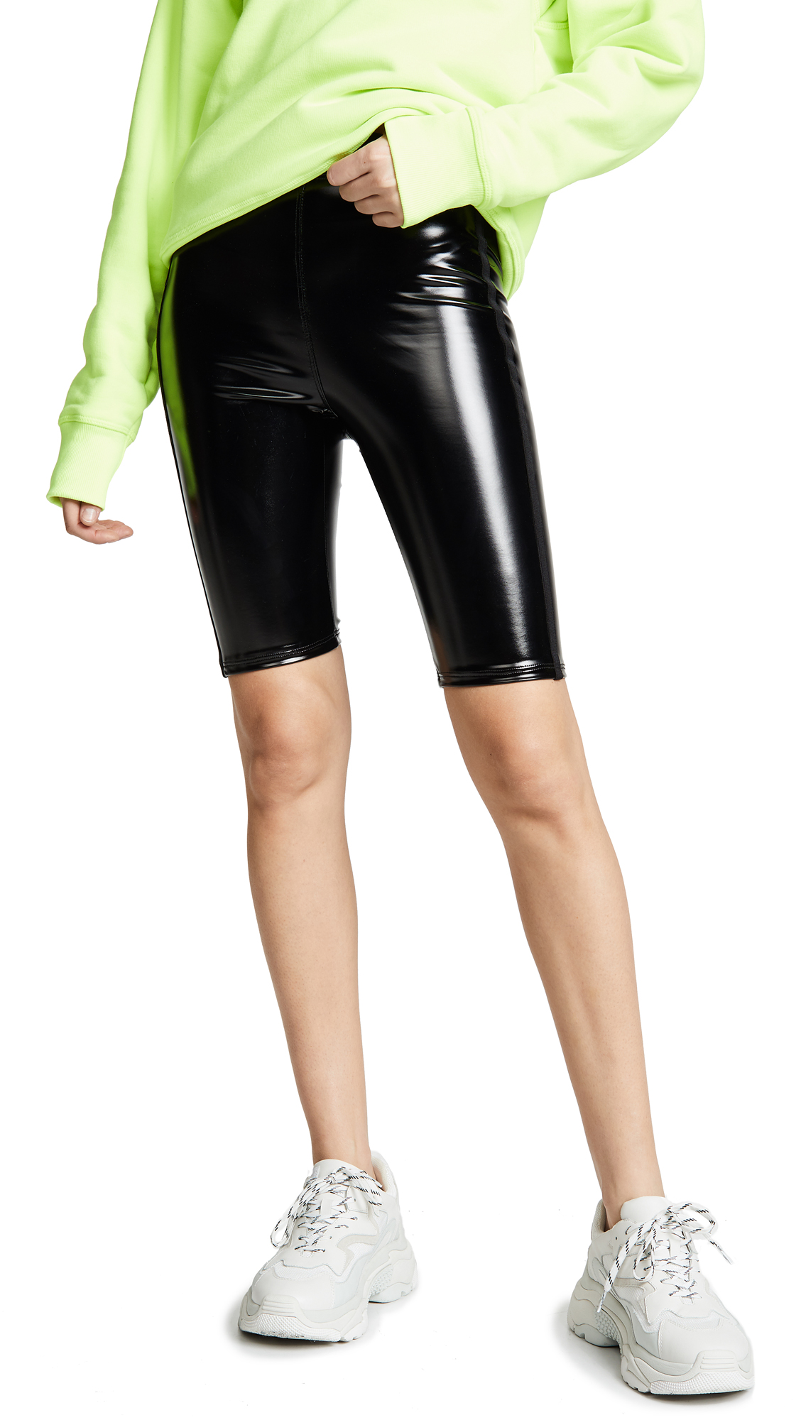 Heroine Sport Downtown Patent Biker Shorts