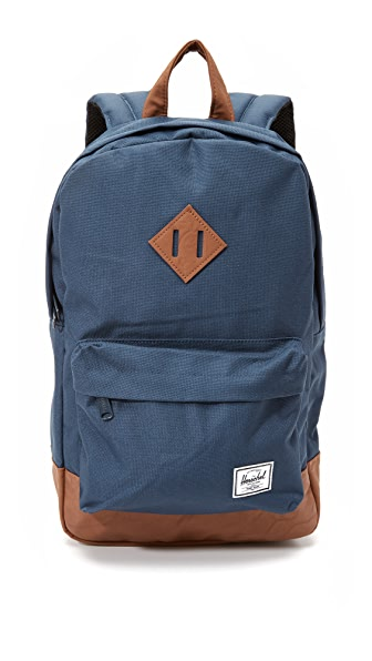 Herschel Supply Co. Heritage Mid Volume Backpack - Navy