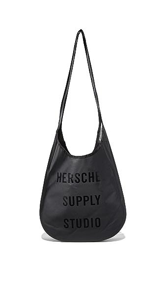 Herschel Supply Co. Elko Tarpaulin Tote - Black