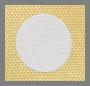 Popcorn/Natural Polka Dots