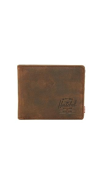 Herschel Supply Co. Hank Leather Wallet