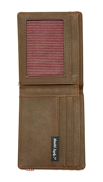 Herschel Supply Co. Hank Leather Wallet
