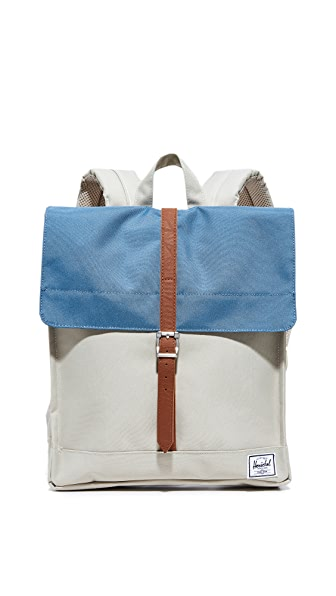 Herschel Supply Co. City Mid Volume Backpack - Pelican/Stellar