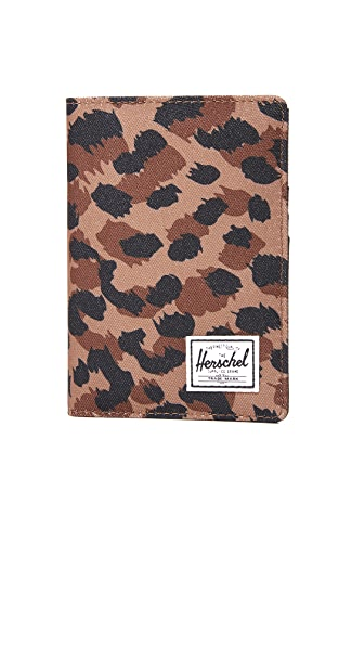 Herschel Supply Co. Raynor Passport Holder - Leopard