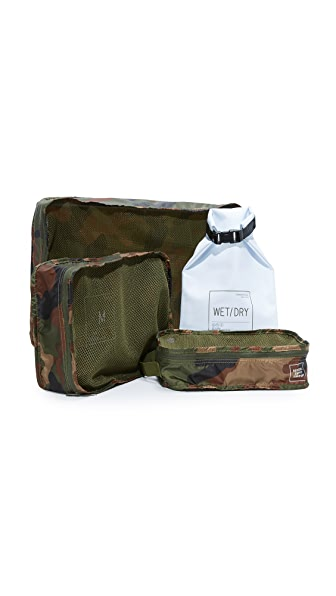 Herschel Supply Co. Standard Issue Travel System - Woodland Camo