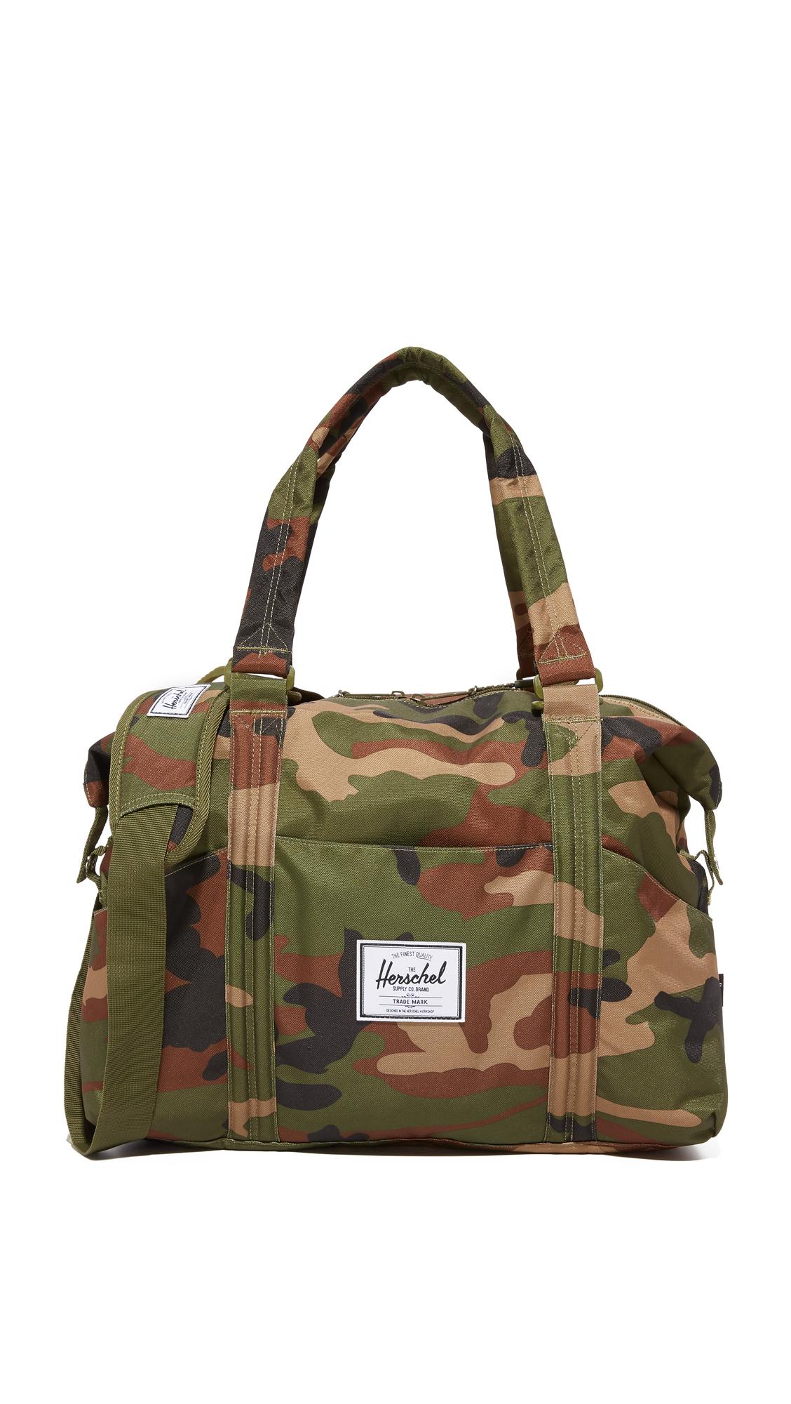 Strand Sprout Diaper Bag, Woodland Camo