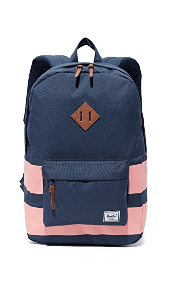 Herschel Supply Co. Heritage Backpack - Navy Rugby Stripe