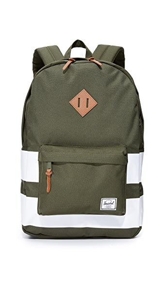 Herschel Supply Co. Heritage Backpack - Forest Night Rugby Stripe
