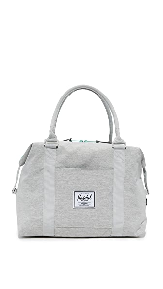 Herschel Supply Co. Strand Duffel Bag - Light Grey Crosshatch/Lucite