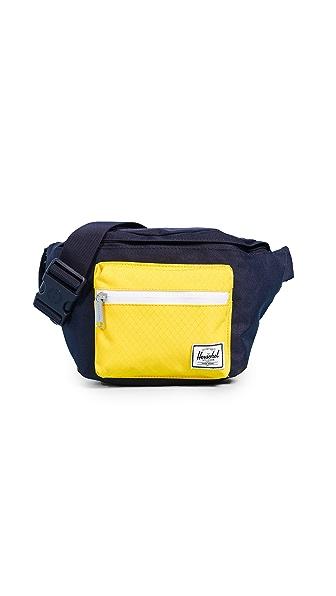 Herschel Supply Co. Seventeen Fanny Pack In Peacoat/Cyber Yellow