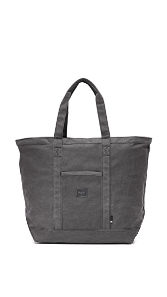 Herschel Supply Co. Bamfield Mid-Volume Tote - Washed Black