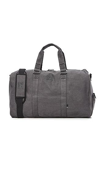 Herschel Supply Co. Novel Duffel Bag - Washed Black